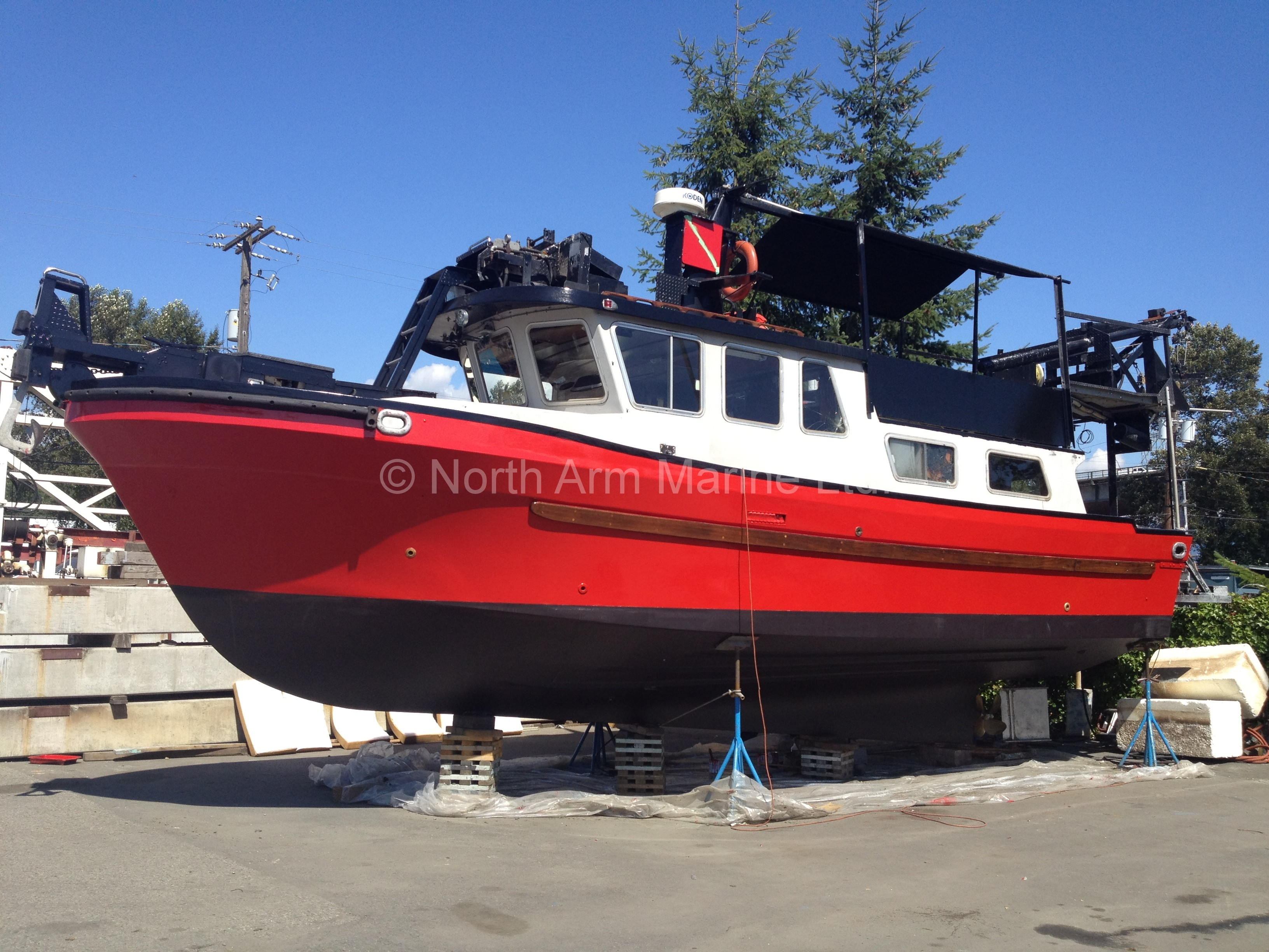 Forced Air Propane Heater >> 1980 Commercial Dive/Utility/Pleasure Boat | North Arm Marine Ltd.